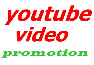 HQ YouTube videos promotion only $5