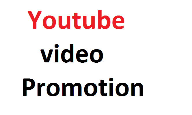 Youtube Video promotion genuine service via real users