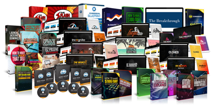 I will give you 500 video courses with resell rights