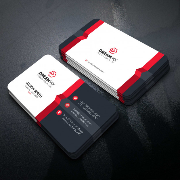 Get new stylish Corporate business card