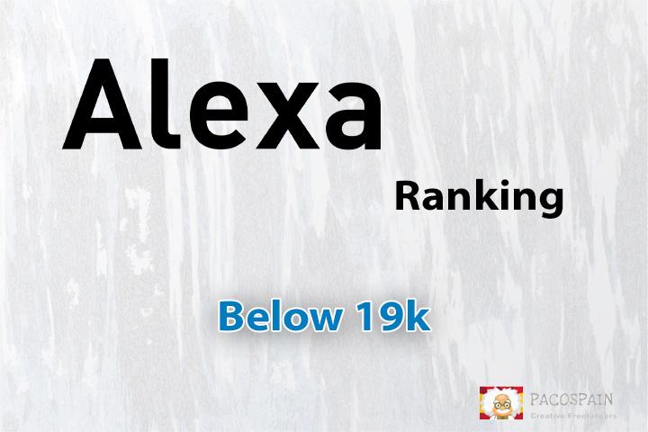 Buy Your Alexa USA ranking under 99K
