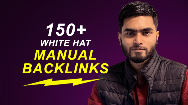 150 SEO Backlinks White-hat Manual link building Service for Google top ranking