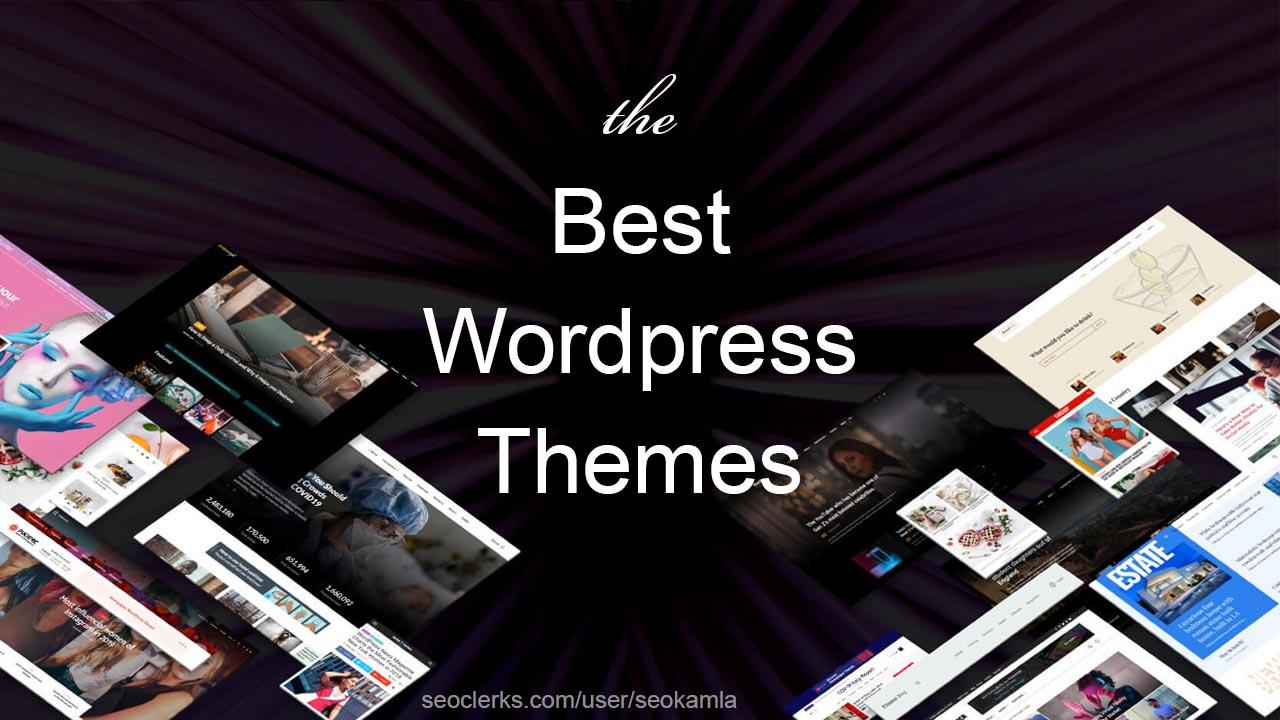 Ceate a blog,  newspaper or magazine website using licensed wordpress theme