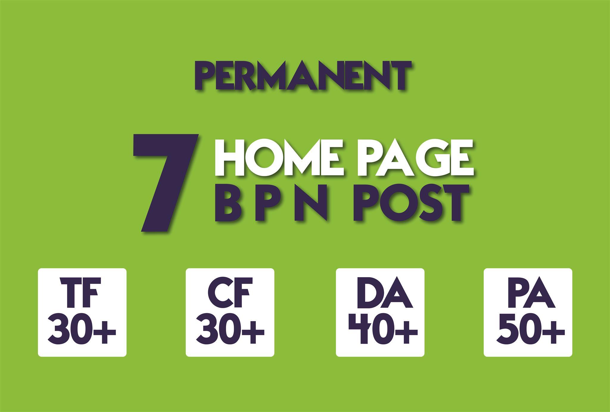I will make 8 Manual HIGH TF CF 20+ DA 15+ PA 35+ Dofollow PBN