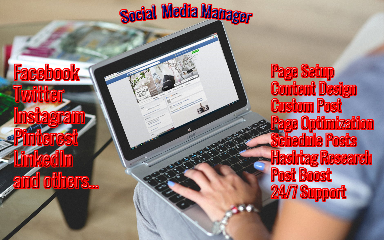 I will be your expert social media manager and content creator
