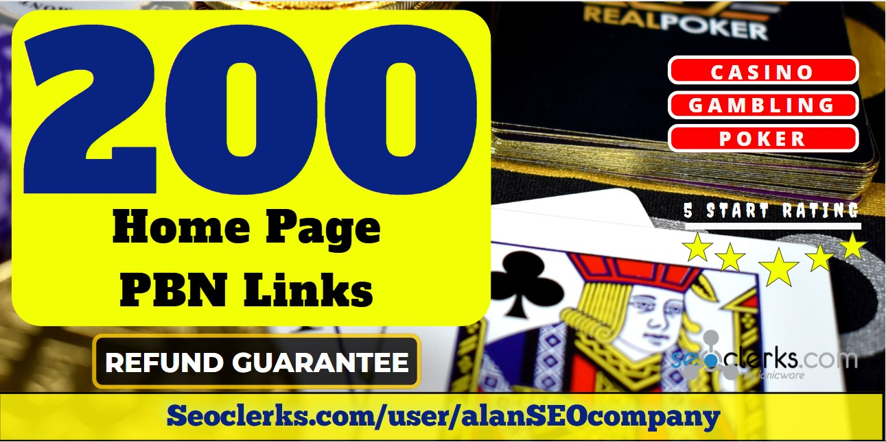 200 Permanent DA 60 Homepage PBN Dofollow Backlink