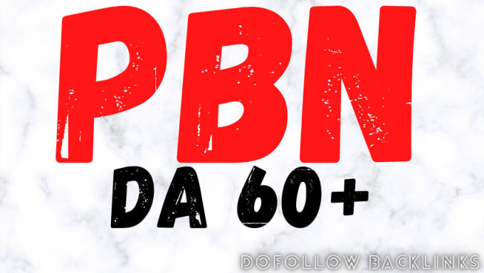 Provide 500 DA 60+ High Quality Pbn Backlinks