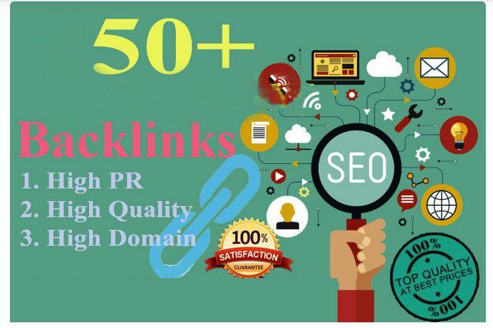 Get Manually TOP 50 DA 60+ Profile Backlinks to increase WEB ranking