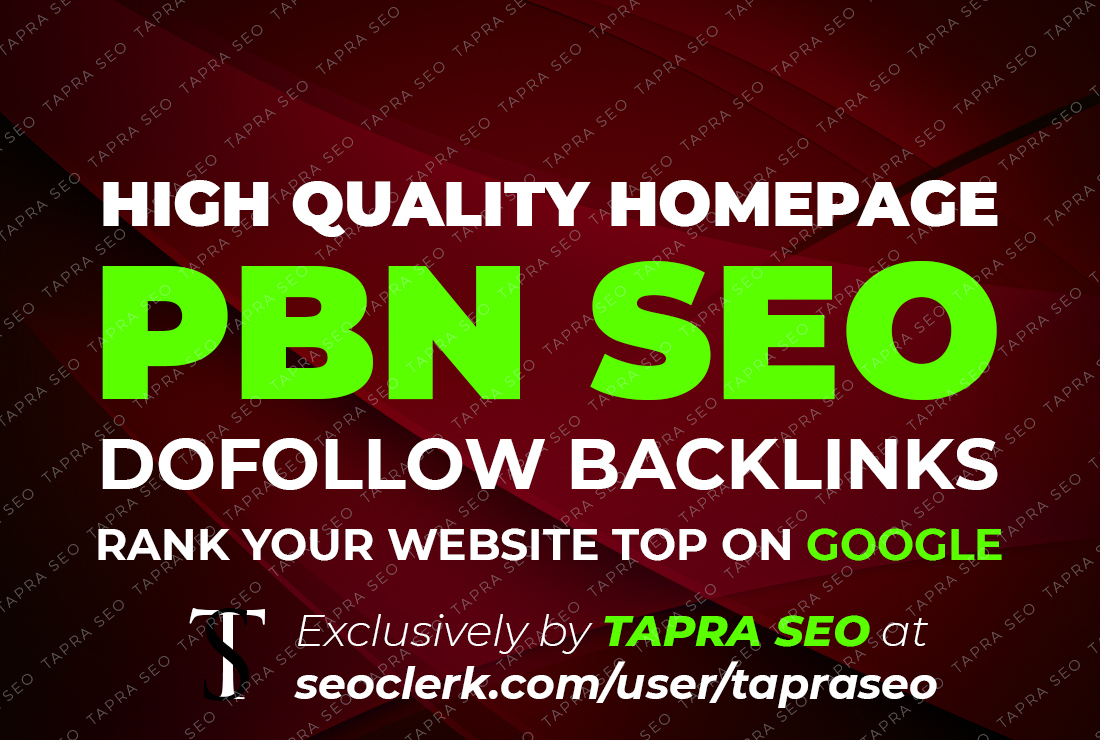 25 PBNs Quality of backlinks boost your site ranking