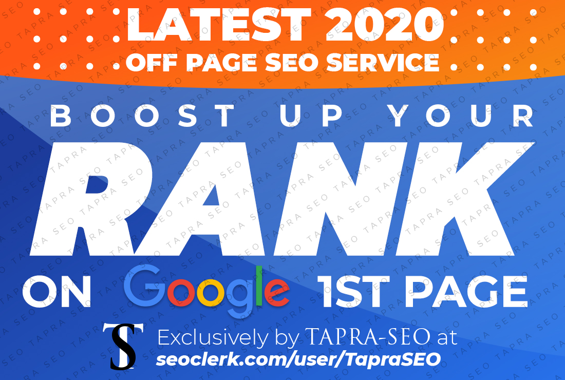 SEO backlinks white hat manual service for google top ranking