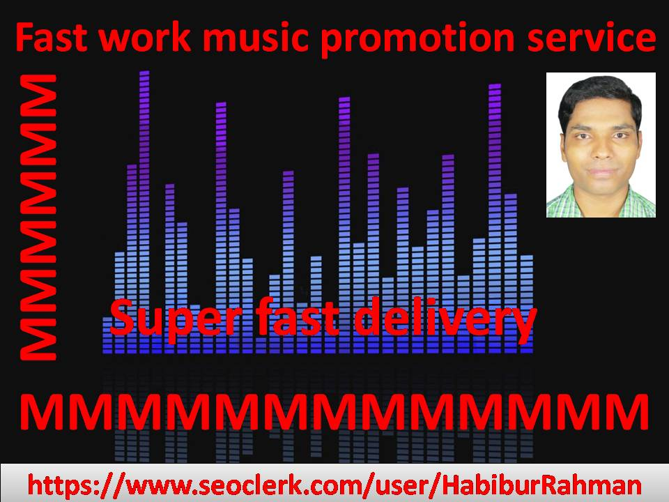 Natural music promotion Mixcloud I will submit fast delivery service in audio & music track or song
