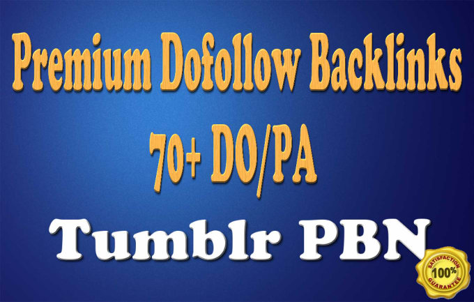 I will create 3 guest post on tumblr blogs pa70 plus
