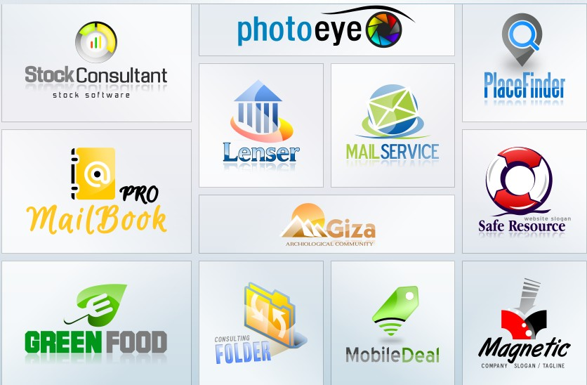 2 Logos different types I will Build High-Quality Logo for Your Website- Company-Name