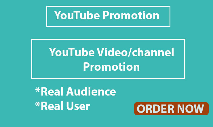 Instant video/channel Promotion Safe and High Quality Via Social Media Marketing