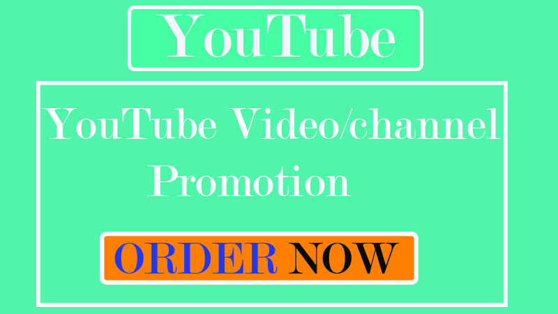 Instant channel promotion and video marketing by real user & Audience with social media Network