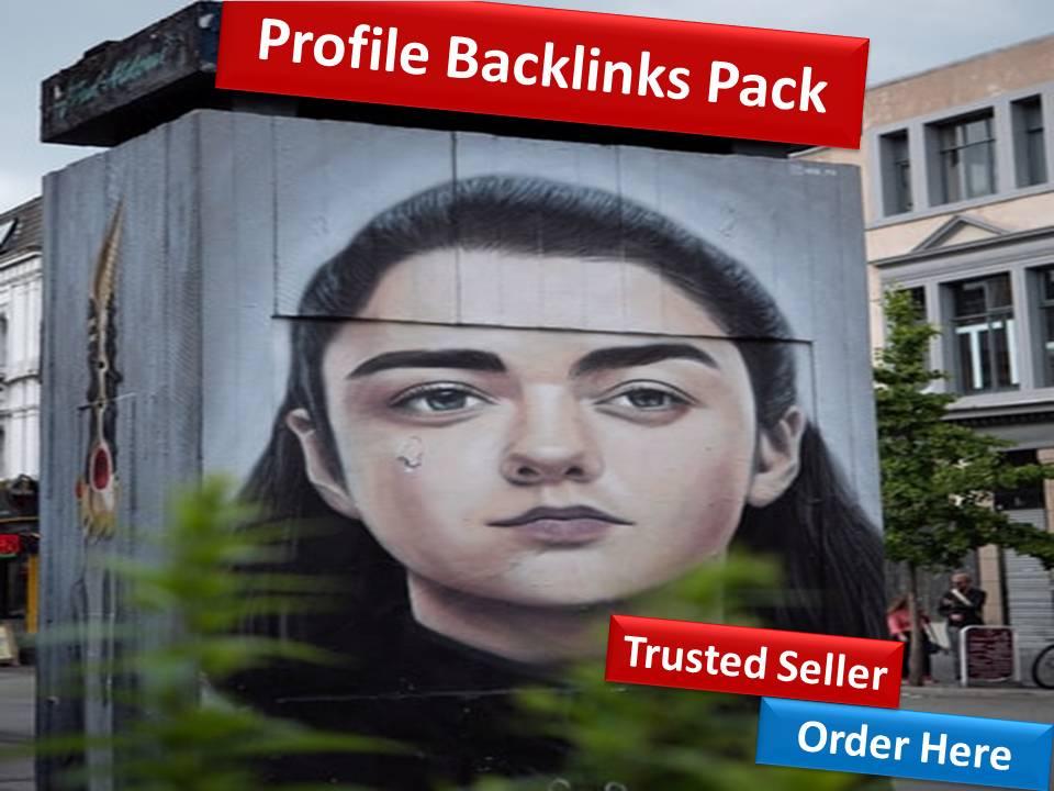 Get 150 Profile Back links PR10-PR3 Authority website
