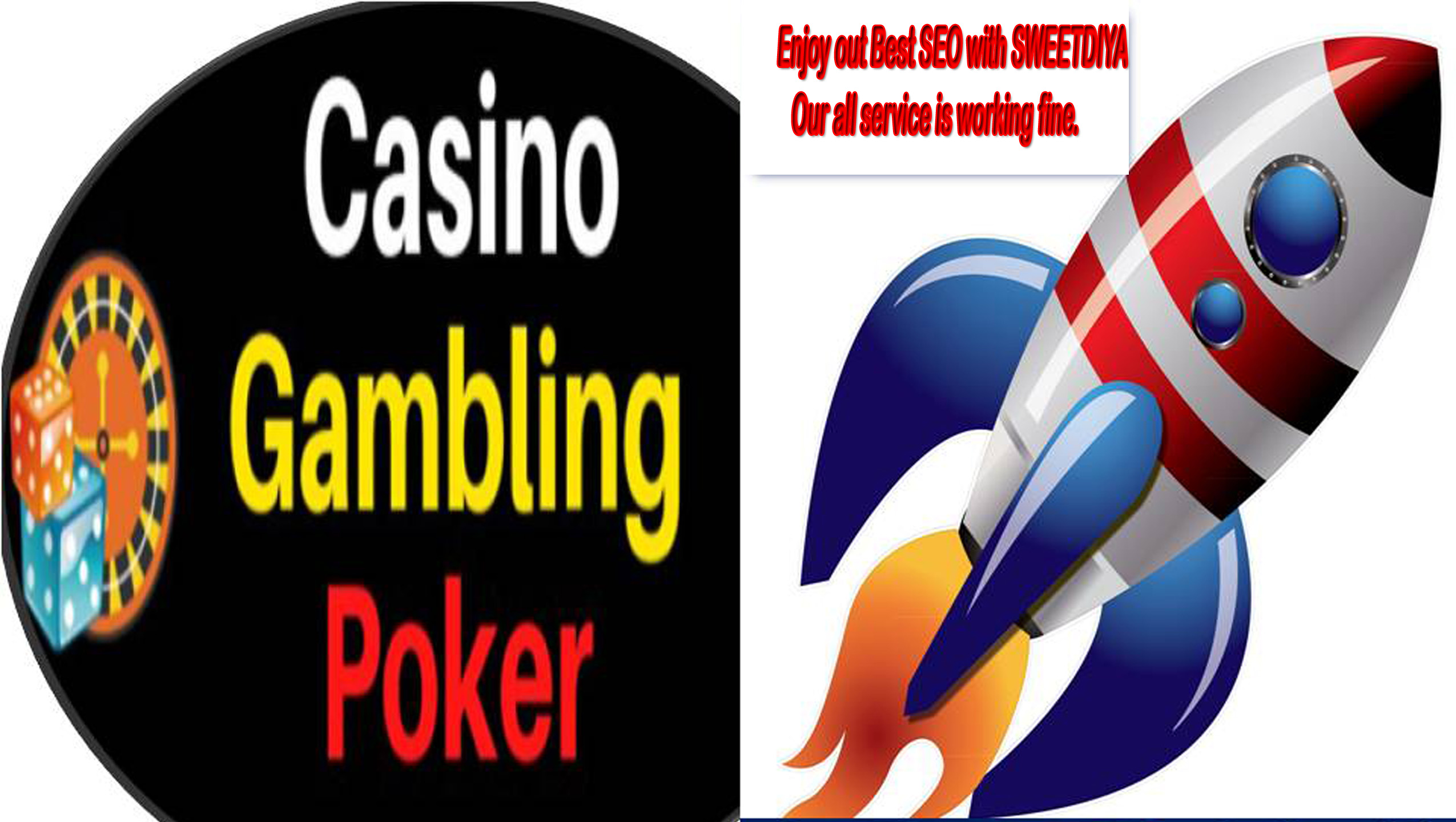 Rank your CASINO,GAMBLING,BETTING, POKER, JUDI Website to Google Page ONE WITH 5 Keywords Guarantee