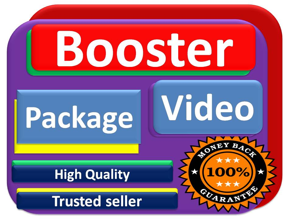 Powerful Booster package for your Videos with fast delivery