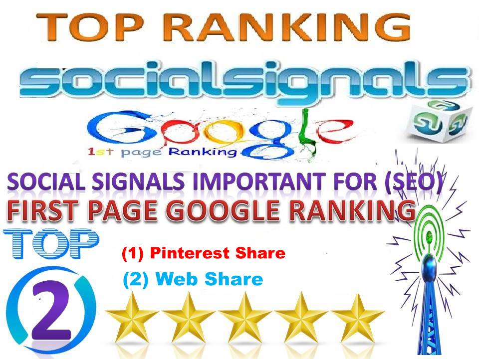 TOP 2 Platform Best Sites 10000 Pinterest FB Social Signals From USA Help For Google First Page