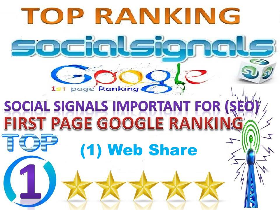 TOP 1 Platform Best Sites 5000 Social Signals From USA Help For Google First Page Ranking