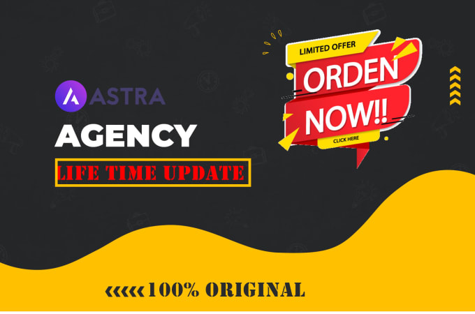 I will install astra pro agency bundle lifetime update