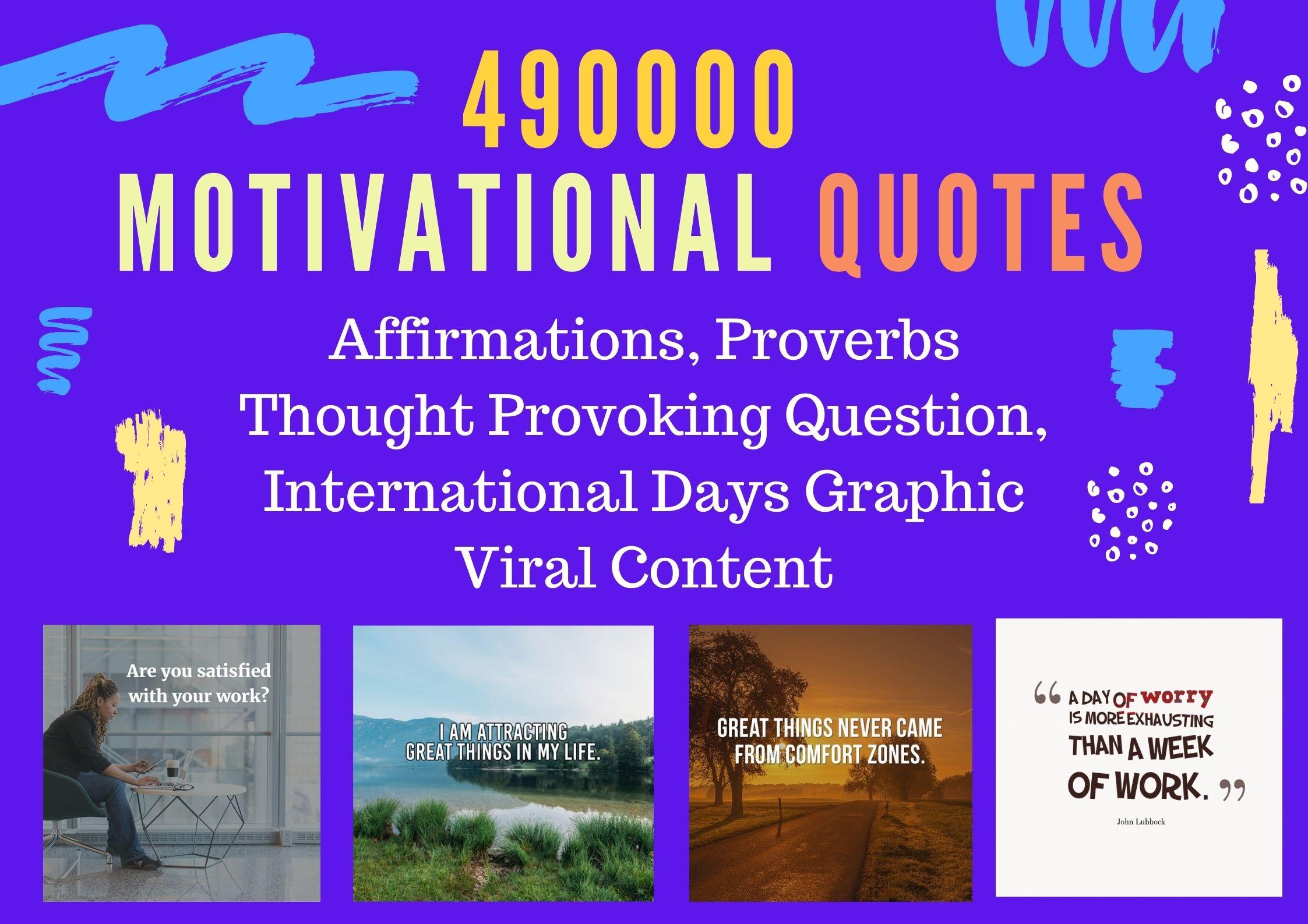 Get Huge Bundle of Motivational Inspirational Quotes