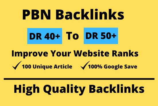 50 Homepage SEO PBN Dofollow Backlinks to Boost Website Ranks