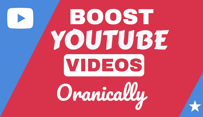 I will do fast YouTube promotion organically