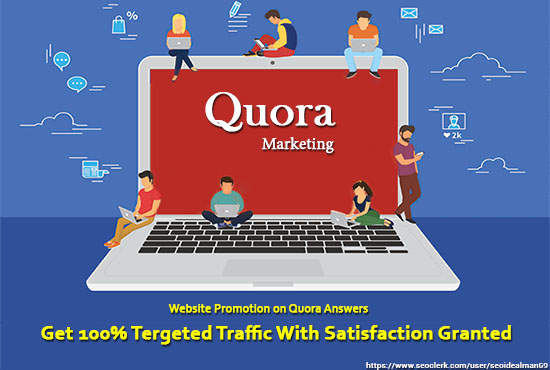 I will answer 10 questions on Quora for your brand which will increase your web traffic