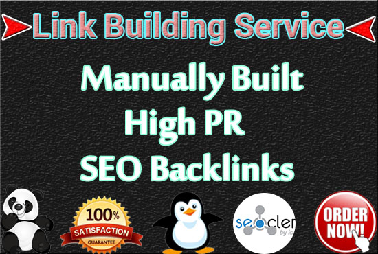 I will Create 50+ high PR SEO backlinks with quality link building service