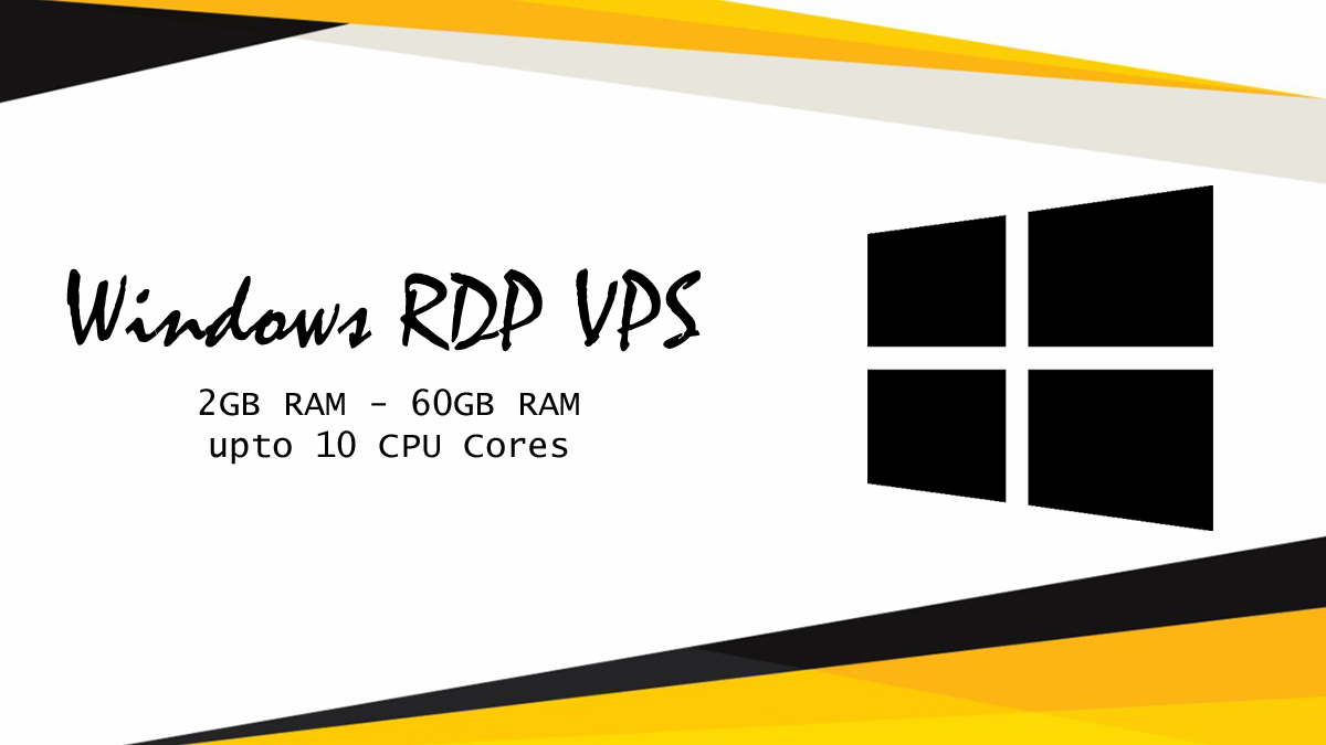 Windows RDP VPS Dedicated with Admin Access