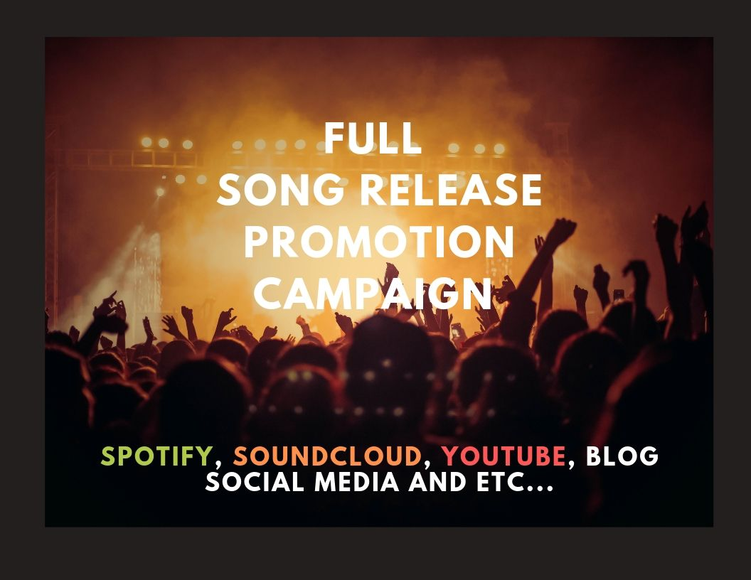 Full PR Campaign for your Song/Album Release