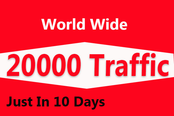 20000 Extra Fast Website Traffic in 1 Day