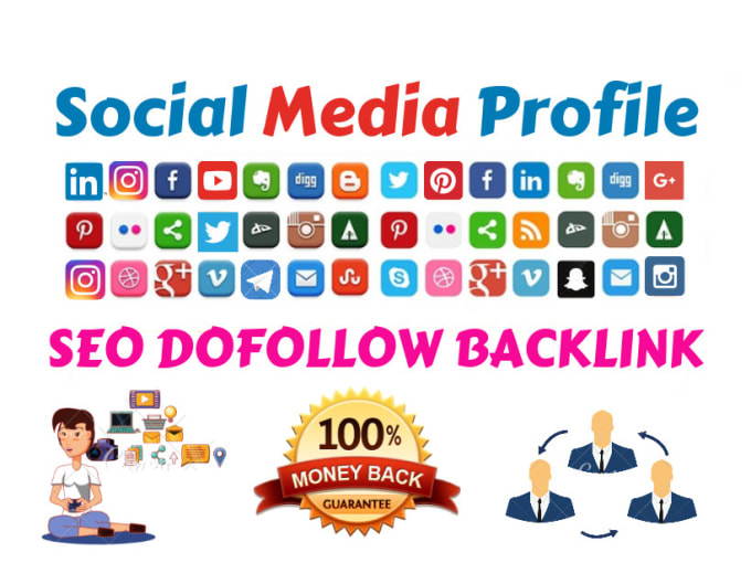 I will build high 1000 Social networks profiles backlinks