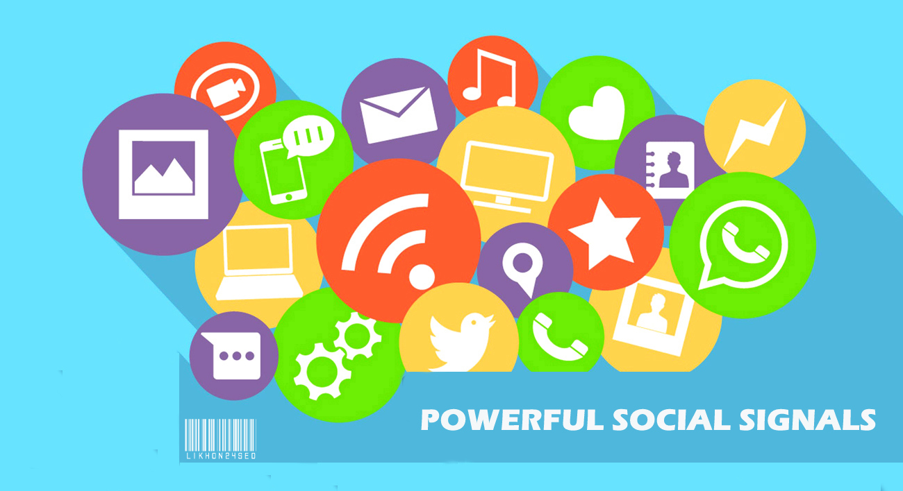 Powerful 100 Social Signals Backlinks Boost Google Rankings your website