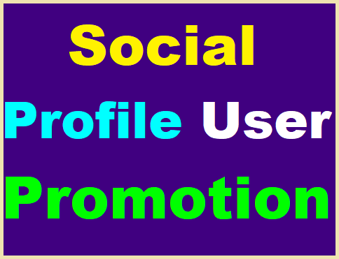 Get Social Media Profile Promotion High Quality with Non Drop Guaranteed