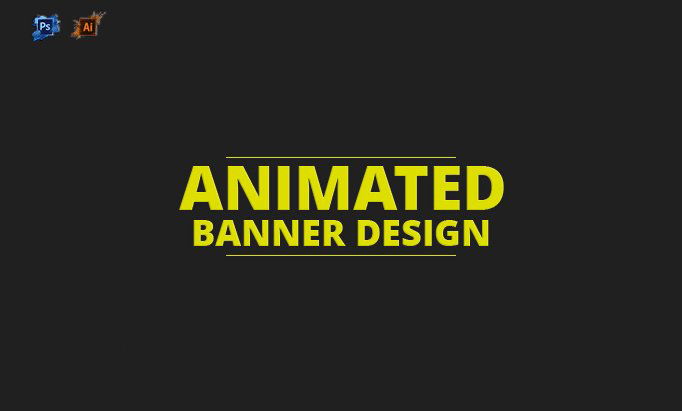Do Animated gif Professional Web Banner ads Design