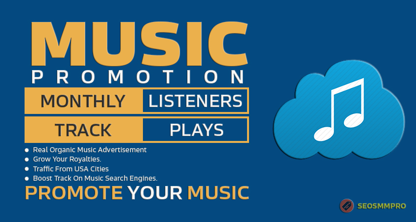 Super Fast 5000 Track Streams or Monthly Listeners for Music Social Platform Promotion Thought Play
