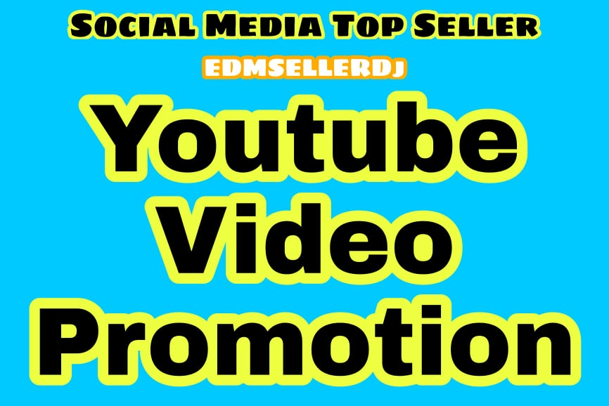 Youtube Promotion & Marketing Video Permanent