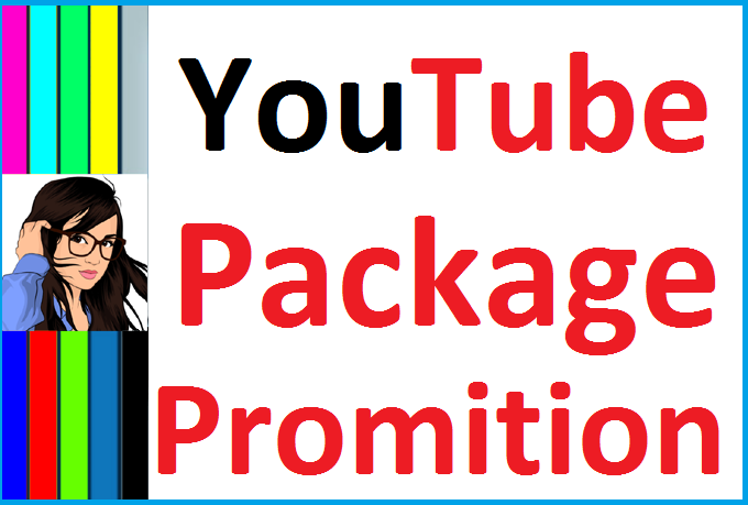 YouTube Package Promotion All In One Service And Instantly Start