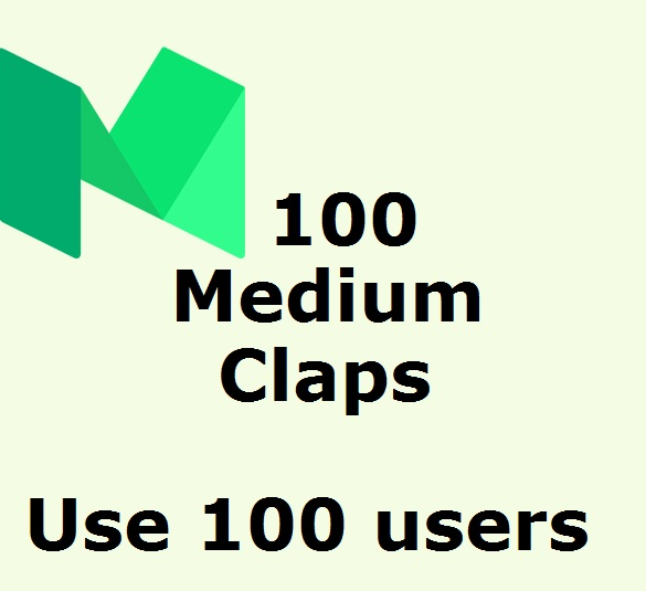 Reach 100 Claps on your medium article