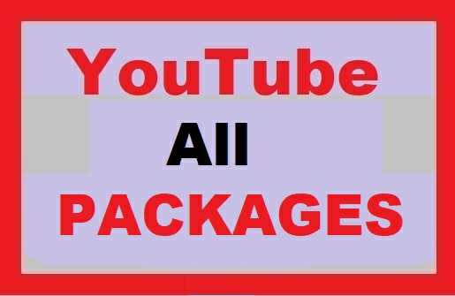 YouTube All Packages Marketing Active Users