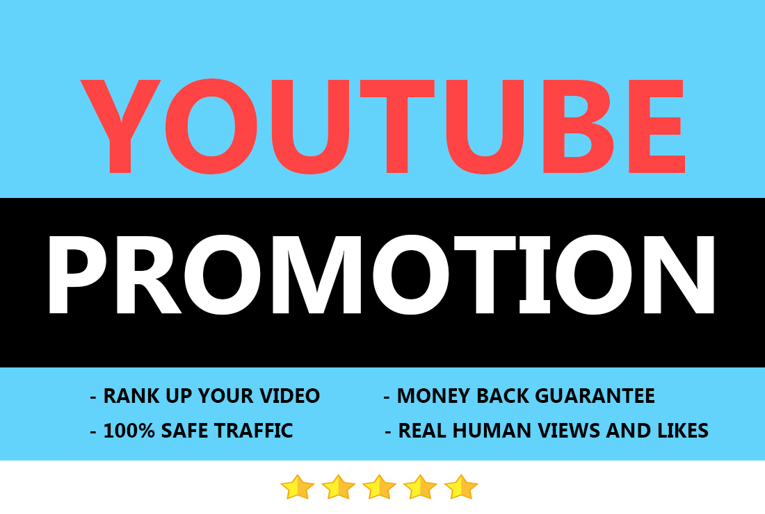 High quality youtube video promotion