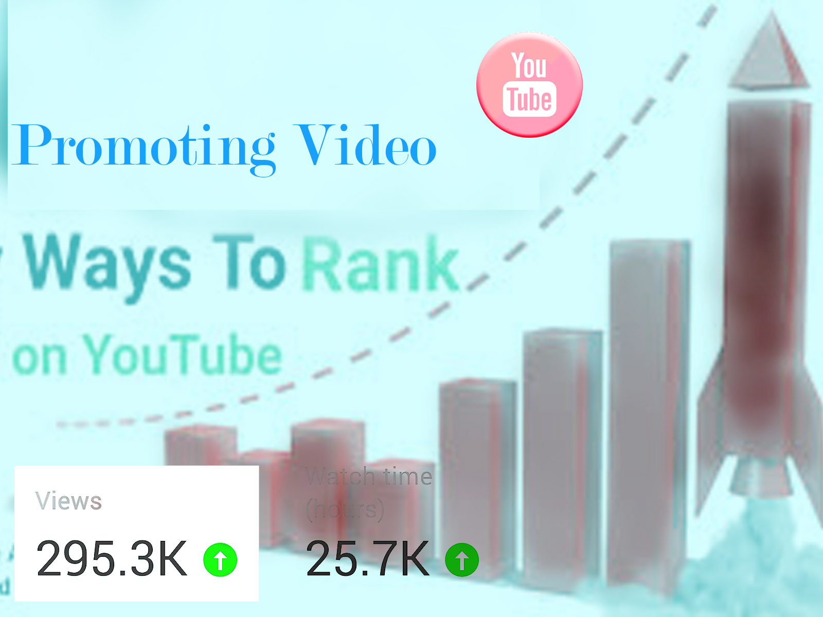 Video marketing making grow up real Promotion 24/7 Days working