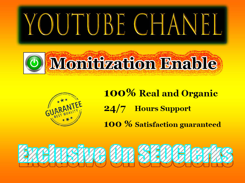 Setup and fill-up Your YouTube Chanel Monetization Guaranteed