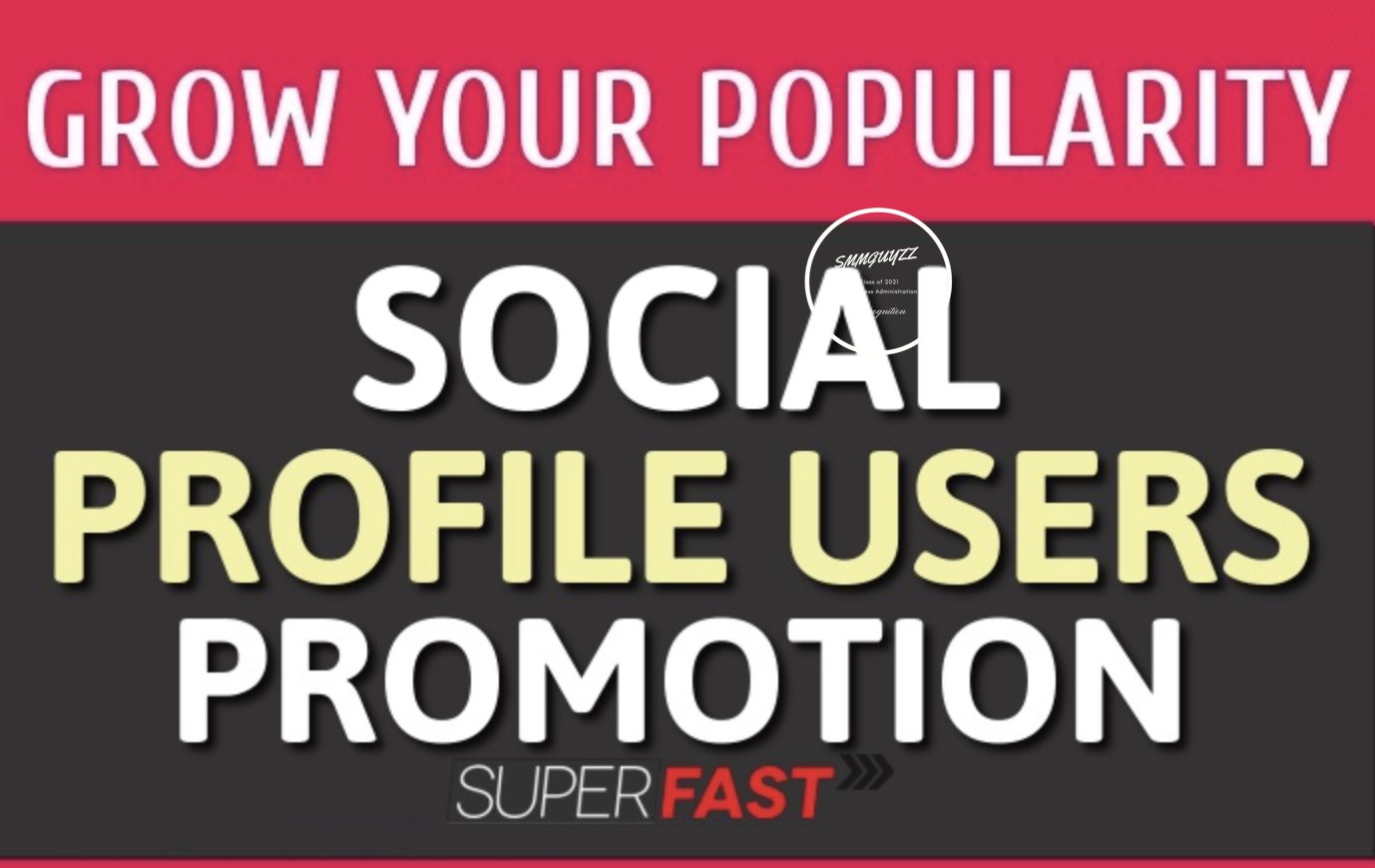 Add Social Profile Followers Promotion Fast and High Quality Service