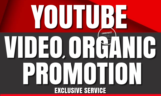 YouTube Video Promotion to Get More Real And Organic Audience