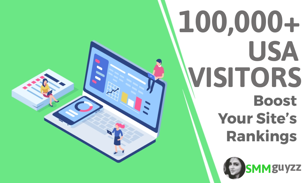 Drive 100,000+ Real USA Visitors to Your Website for Boost Your Site Ranking
