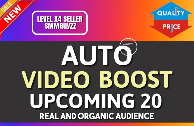 Get Real Automatic Social Video BOOST To Each Of Your Upcoming Uploads