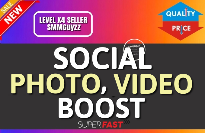 Get Real Photo OR Video High Quality Booster